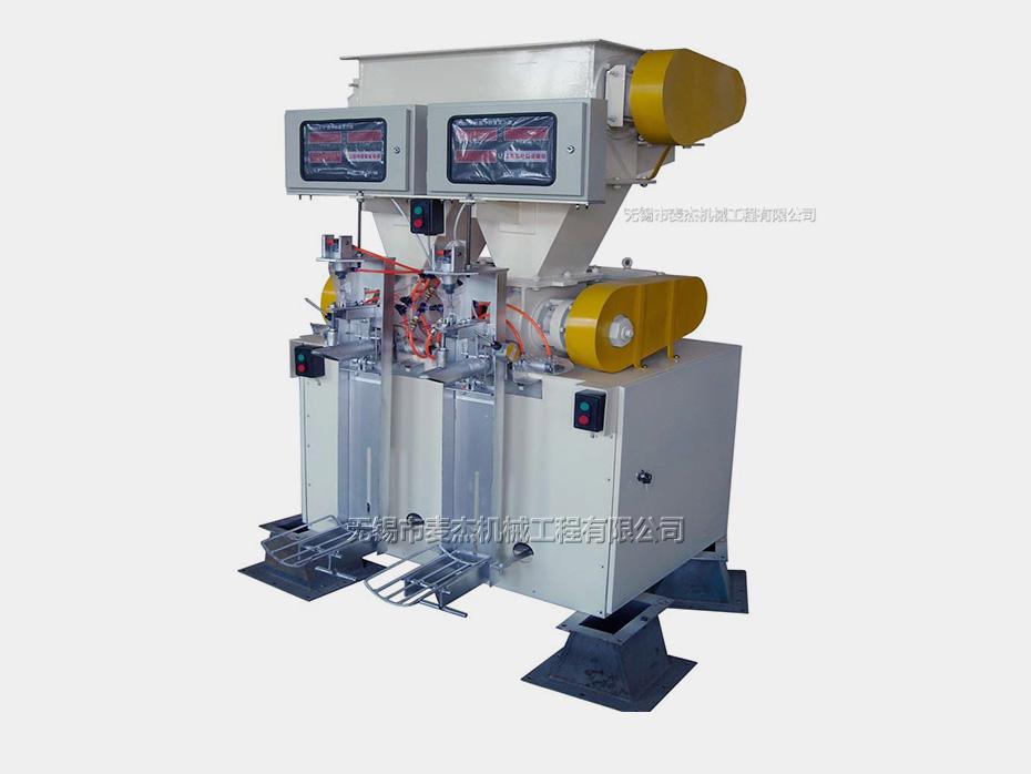麦杰新研发F1550-B型箱式高压真空阀口包装机