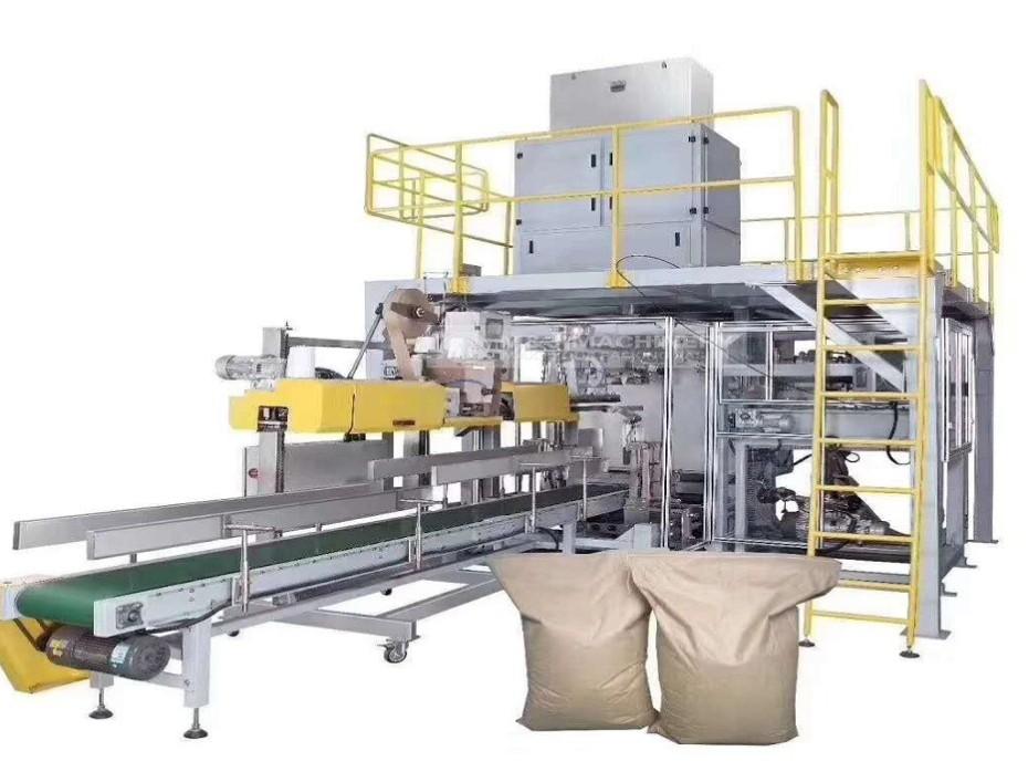 肥料怎么使用全自动包装机?快点击进入,无锡麦杰机械