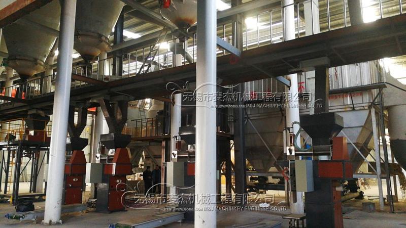 麦杰机械煤粉包装机成功解决企业环保问题