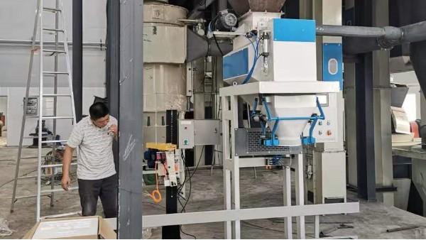 麦杰机械完成一餐厨垃圾输送包装工程