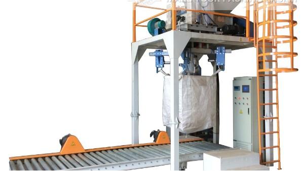 粉体吨袋包装机,自动脱钩,适用各种粉料包装【无锡麦杰】